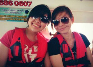 derawan at boat